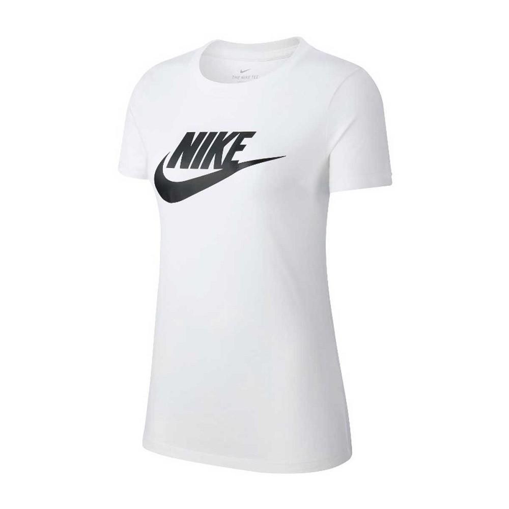 Camiseta Nike SB Essential Feminino Branco Preto