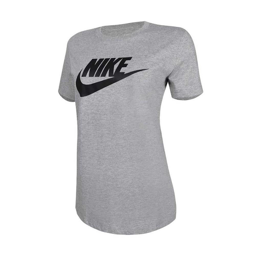 Camiseta Nike SB Essential Feminino Cinza