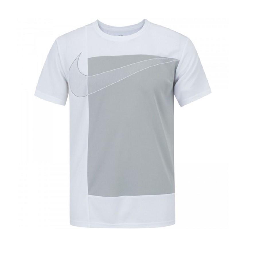 Camiseta Nike Superset SS Masculina Cinza