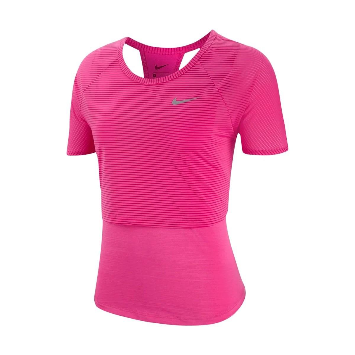 Camiseta Nike Top SS Feminina Rosa