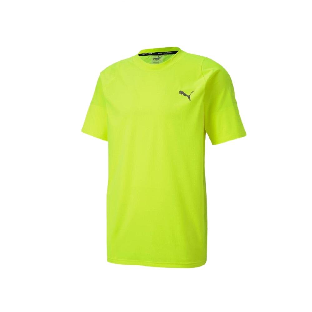 Camiseta Performance SS Tee Masculino Amarelo