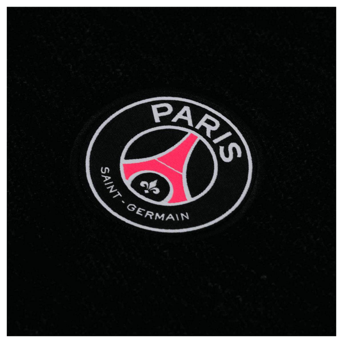 Camiseta PSG Nike Polo Authentic Preta 18 19