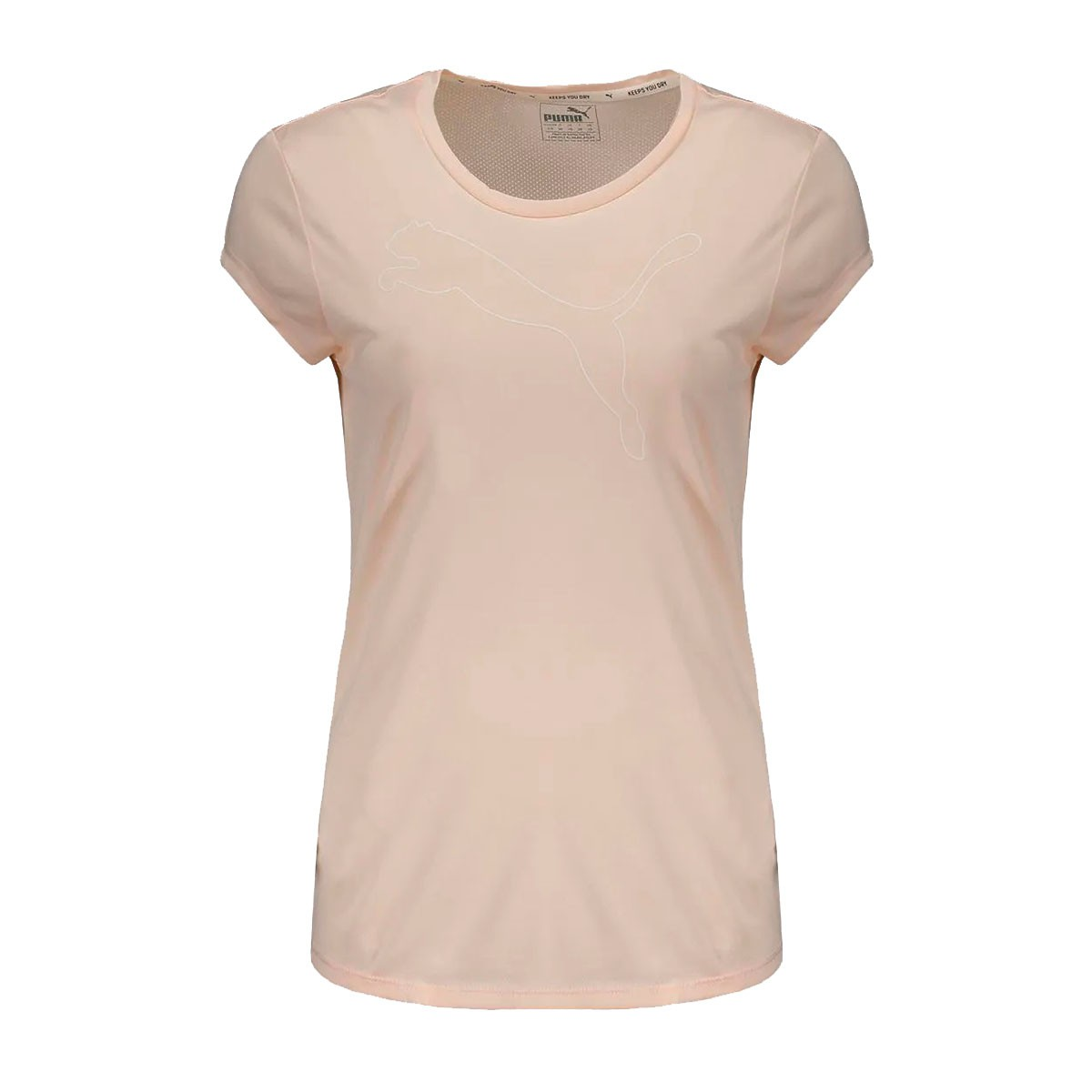 Camiseta Puma Active Heather Feminina Rosê