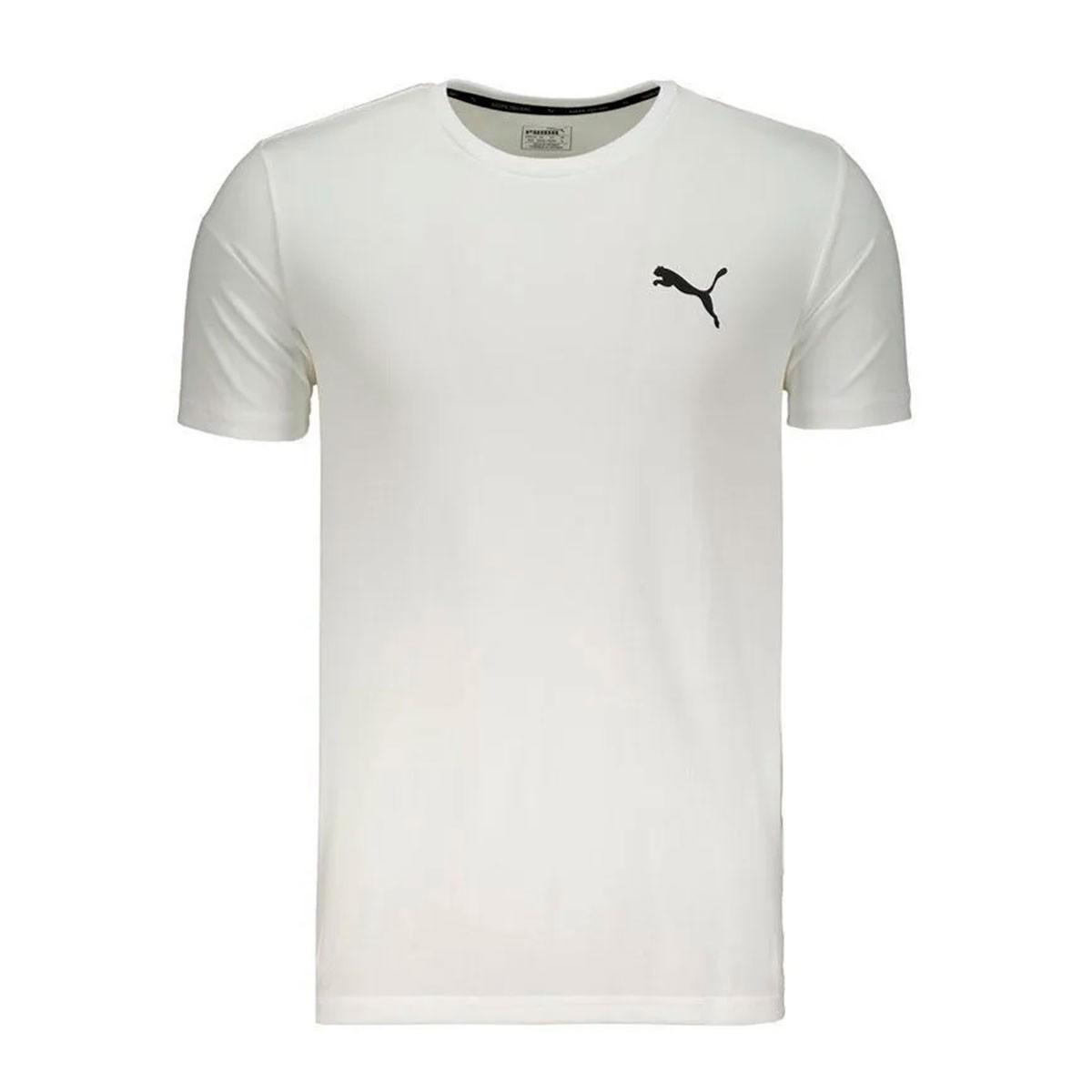 Camiseta Puma Active Masculina - Branco