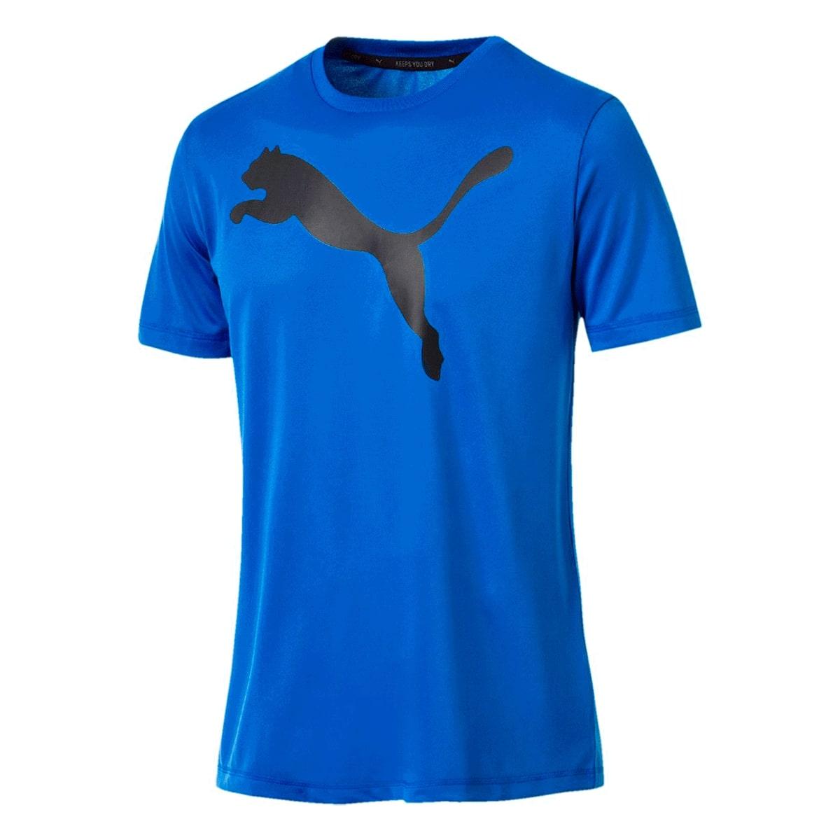 Camiseta Puma Active Masculino Azul Royal