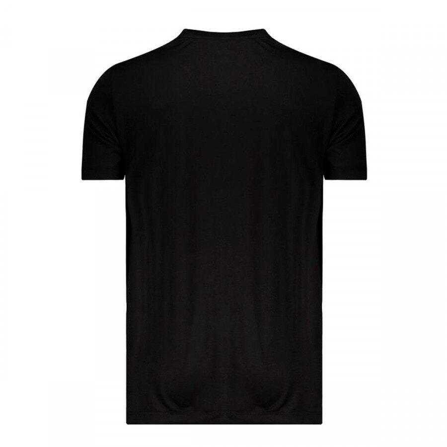 Camiseta Puma Active Tee Big Logo Masculino Preto