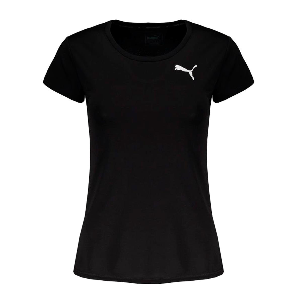 Camiseta Puma Active Tee Feminina Preto