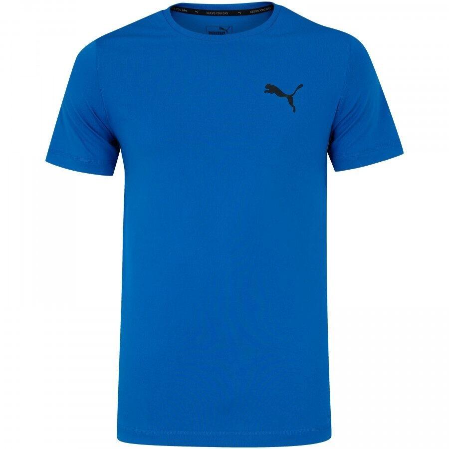 Camiseta Puma Active Tee Masculino Azul