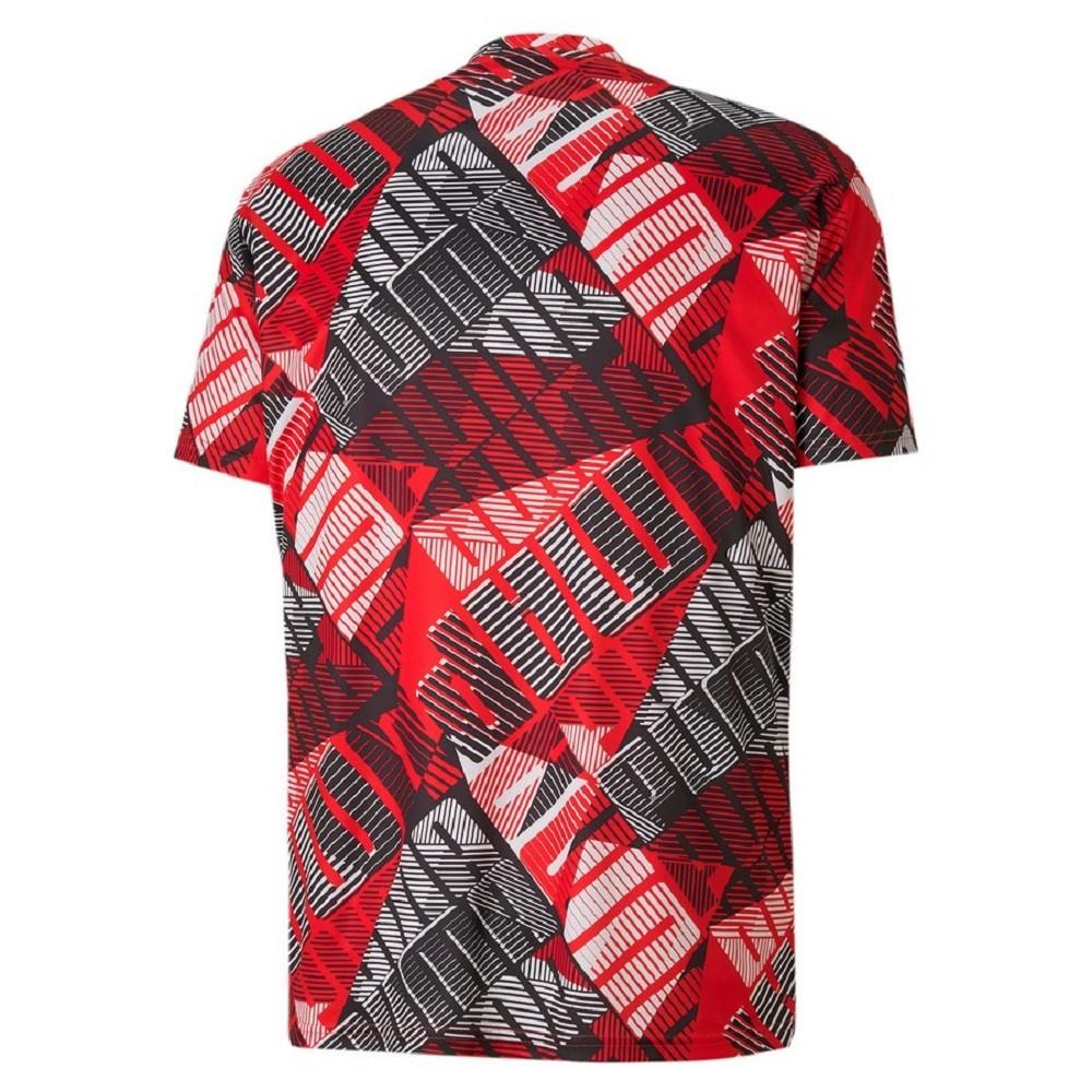 Camiseta Puma Blast AOP Masculina Vermelho