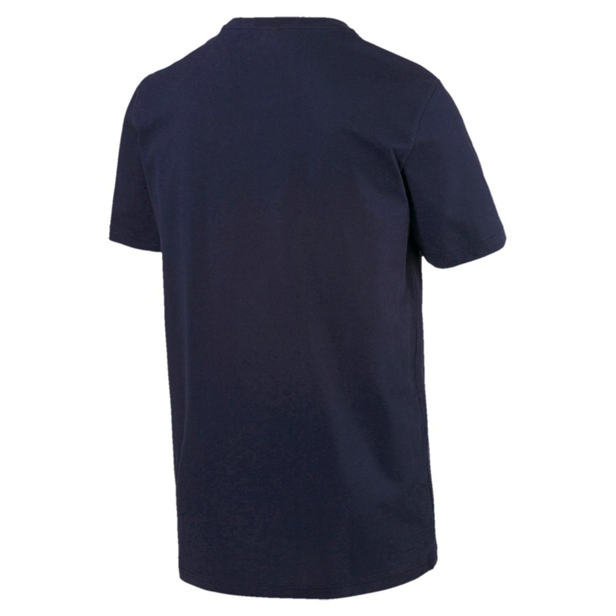 Camiseta Puma Box Marinho - Masculina
