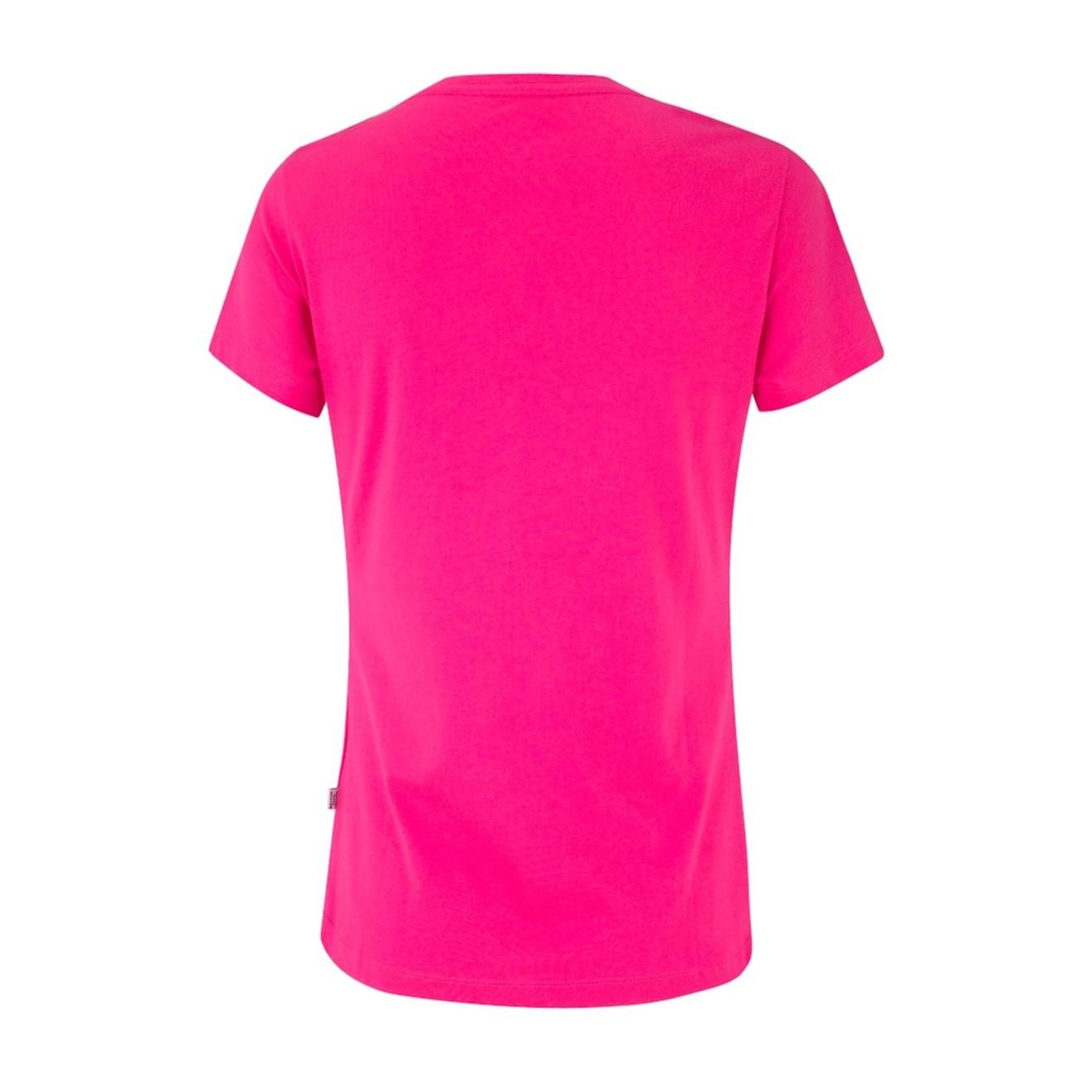 Camiseta Puma Ess Tee Feminina Pink