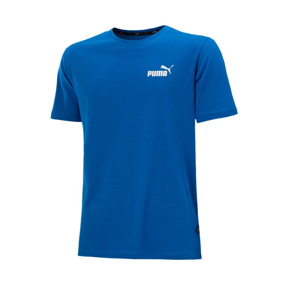 Camiseta Puma Essentials Small Logo Masculino Azul