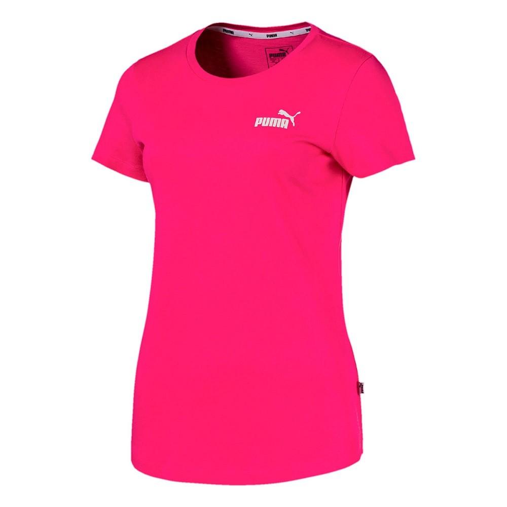 Camiseta Puma Essentials TEE Beetroot Feminino Rosa