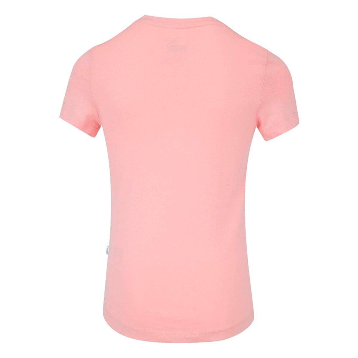 Camiseta Puma Essentials Tee Feminina Infantil Rosa