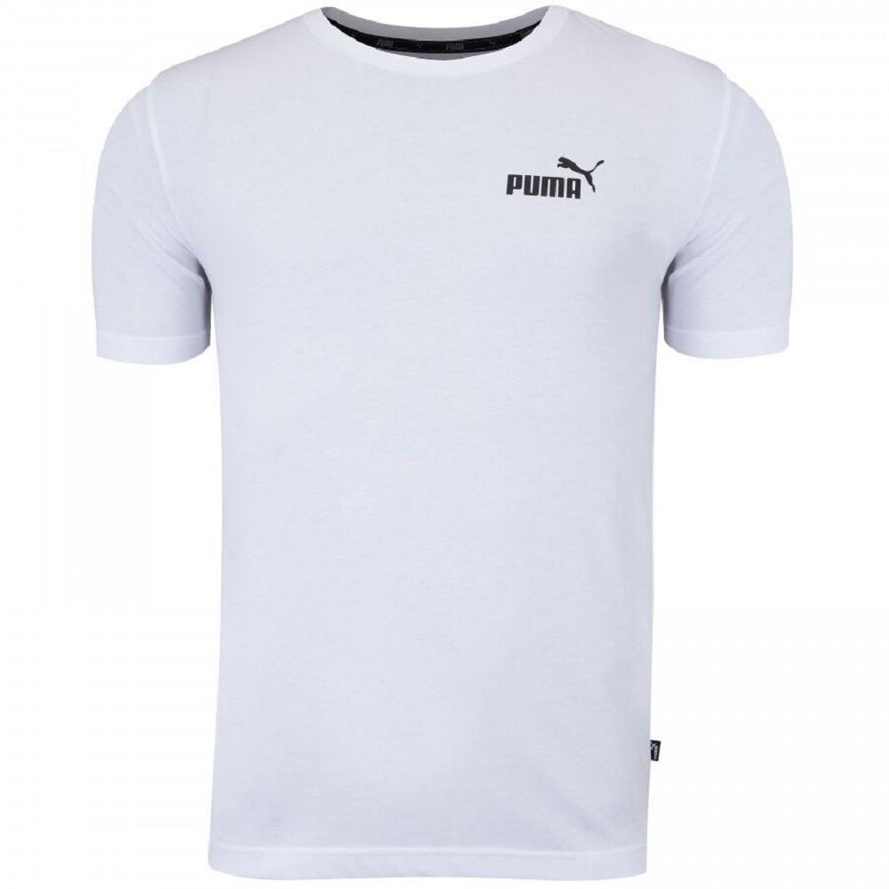 Camiseta Puma Essentials Tee Feminino Branco