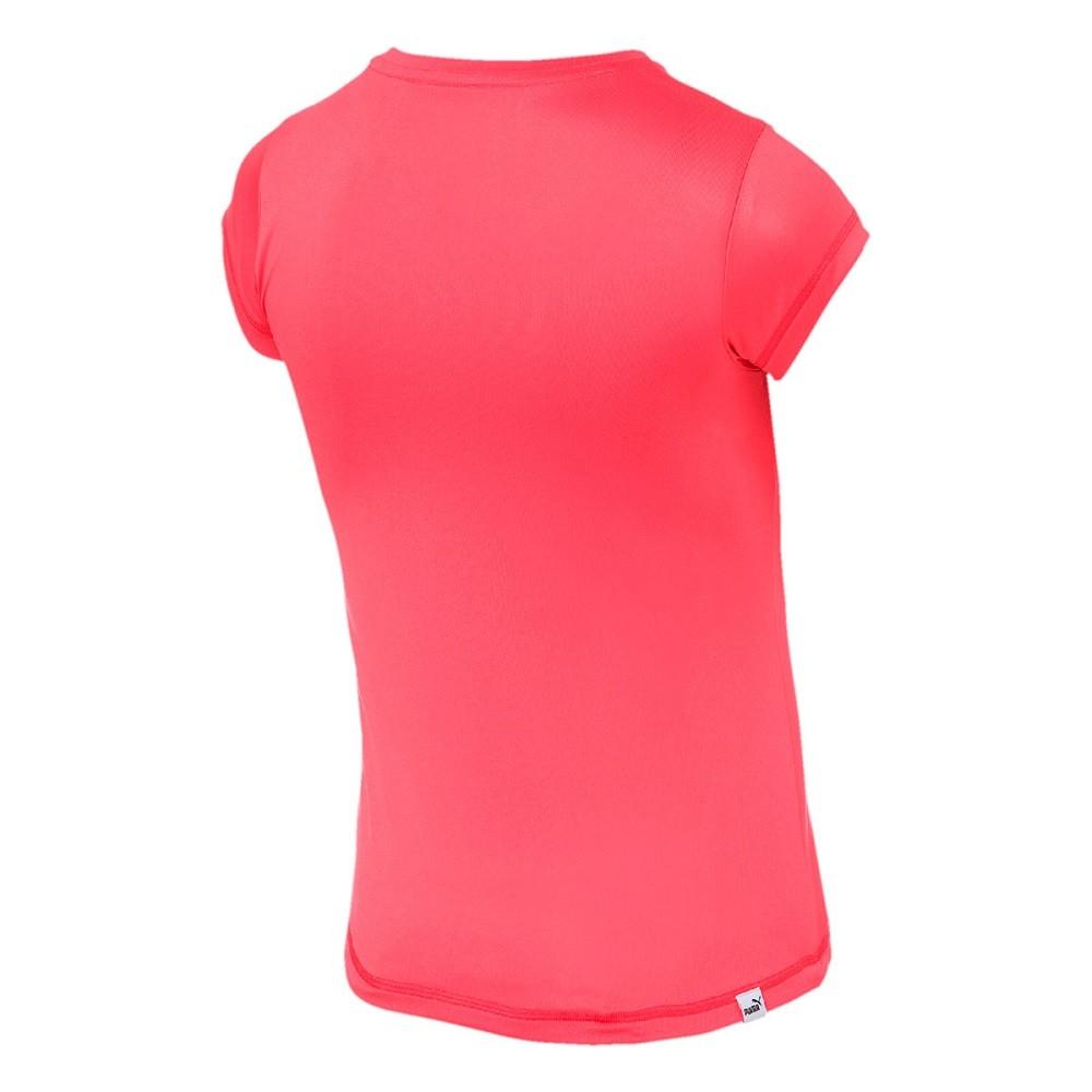 Camiseta Puma Essentials Tee Infantil Calypso Coral