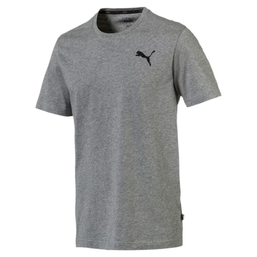 Camiseta Puma Evostripe Tee Cinza