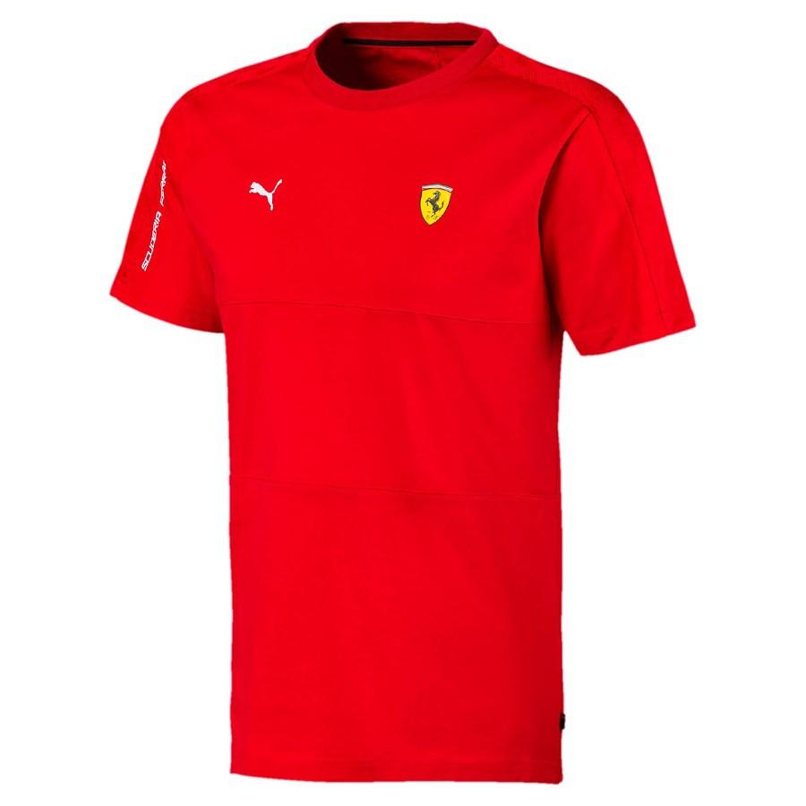 Camiseta Puma Ferrari T7 Masculina - Vermelho