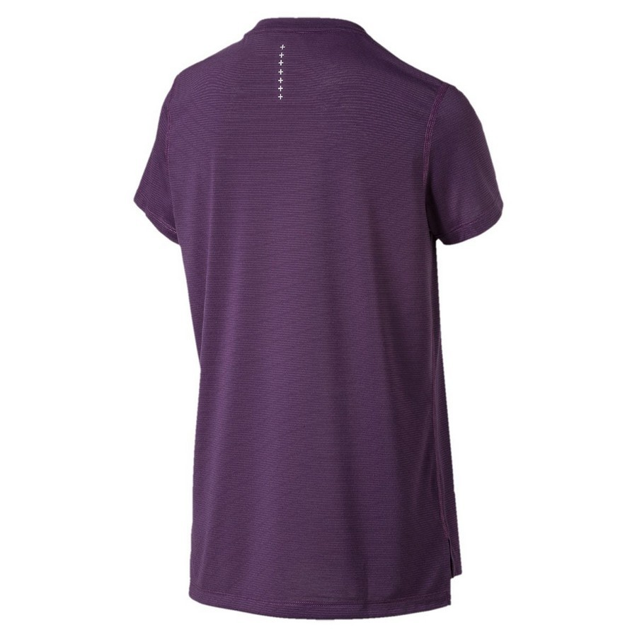 Camiseta Puma Ignite S/S W Feminina Roxo