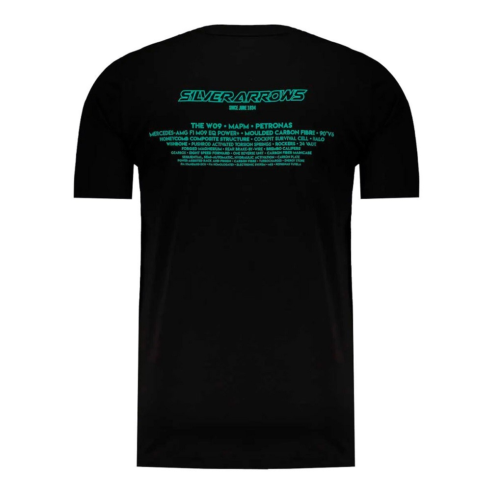 Camiseta Puma Mercedes AMG Petronas MotorSport Preta