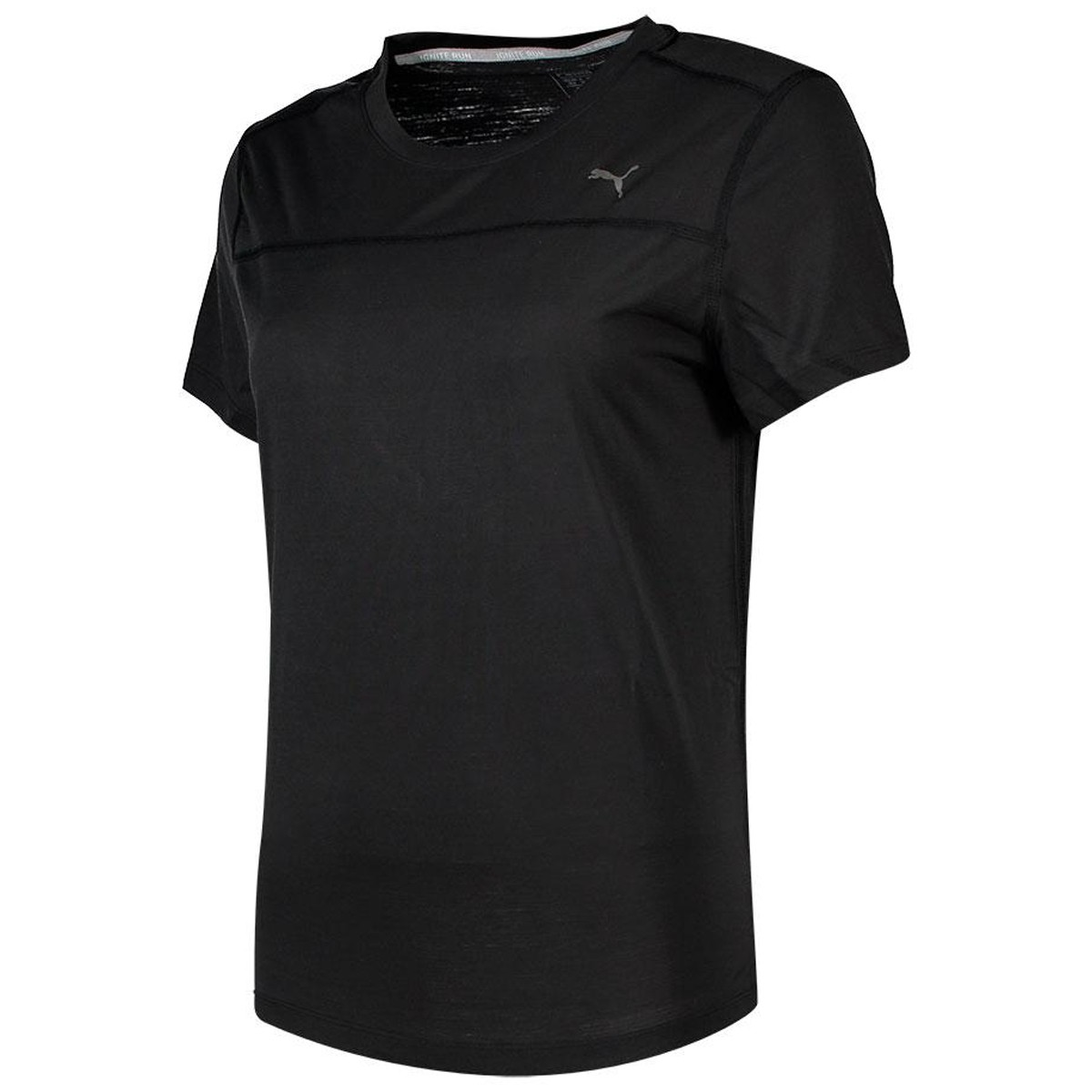Camiseta Puma Preta Tee Ignite Run - Feminina