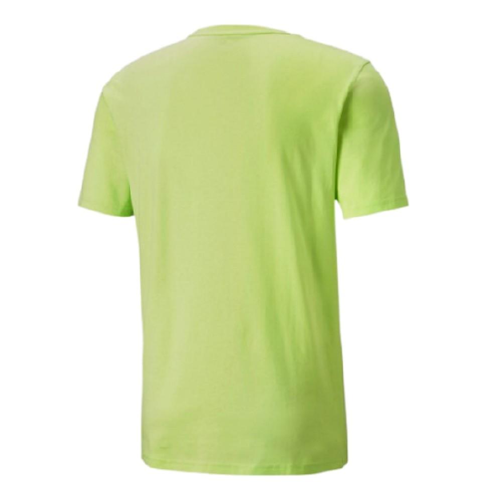 Camiseta Puma Rebel Masculino Verde