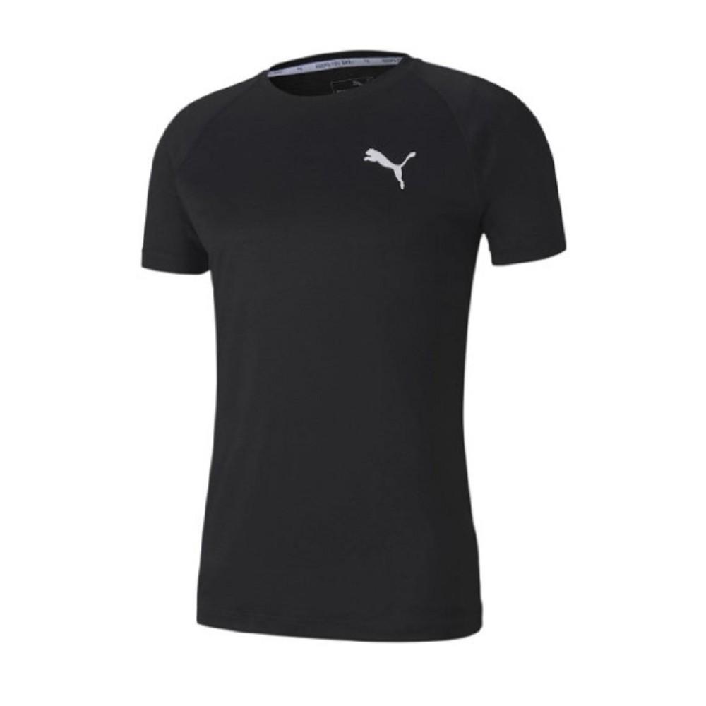 Camiseta Puma Slim Fit Masculina Preto