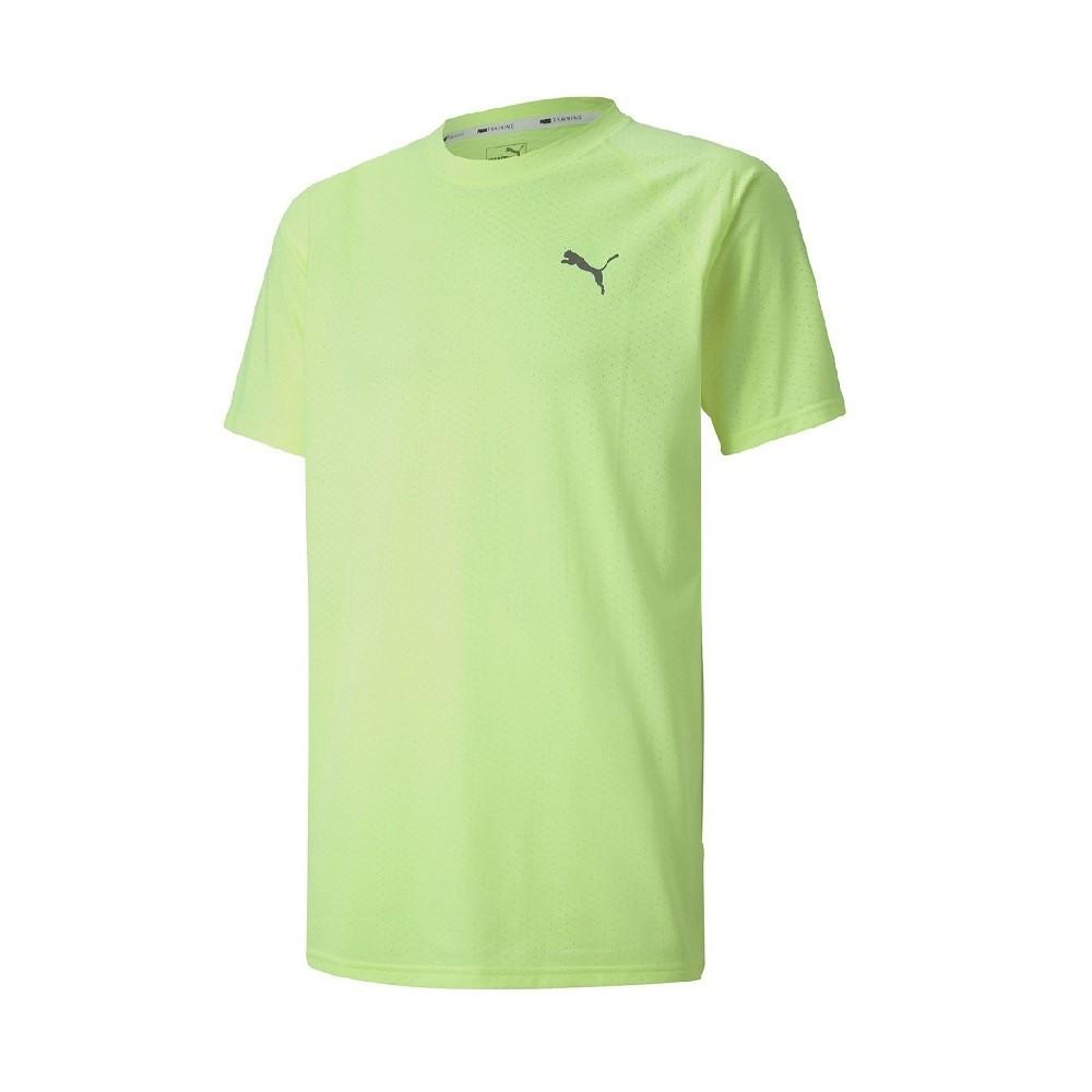 Camiseta Puma SS Tech Masculina Amarela