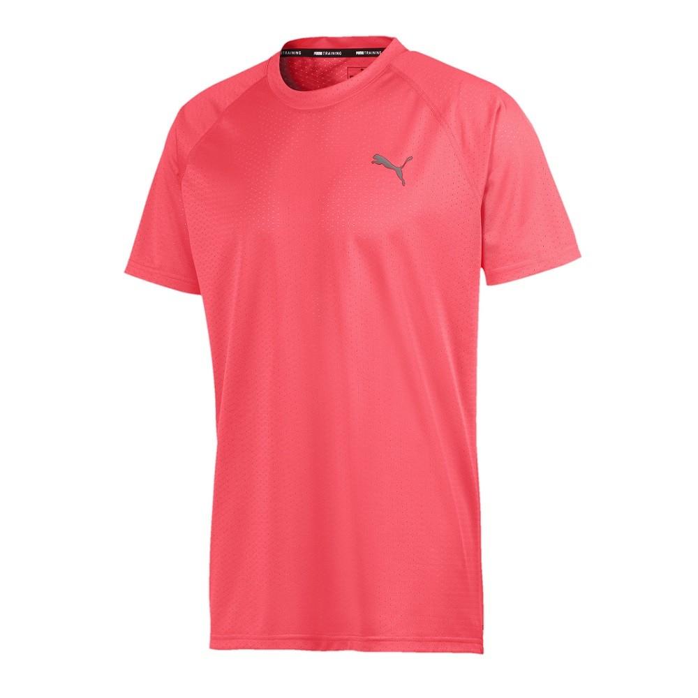 Camiseta Puma SS Tech Tee Masculina Rosa