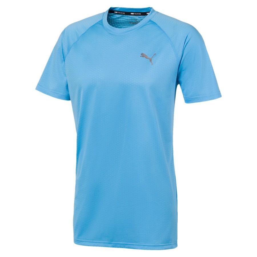 Camiseta Puma SS Tech Tee Masculino Azul