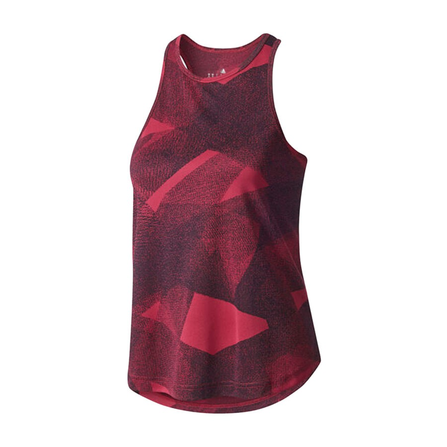 Camiseta Regata Adidas Cool Tank Feminino Vermelho