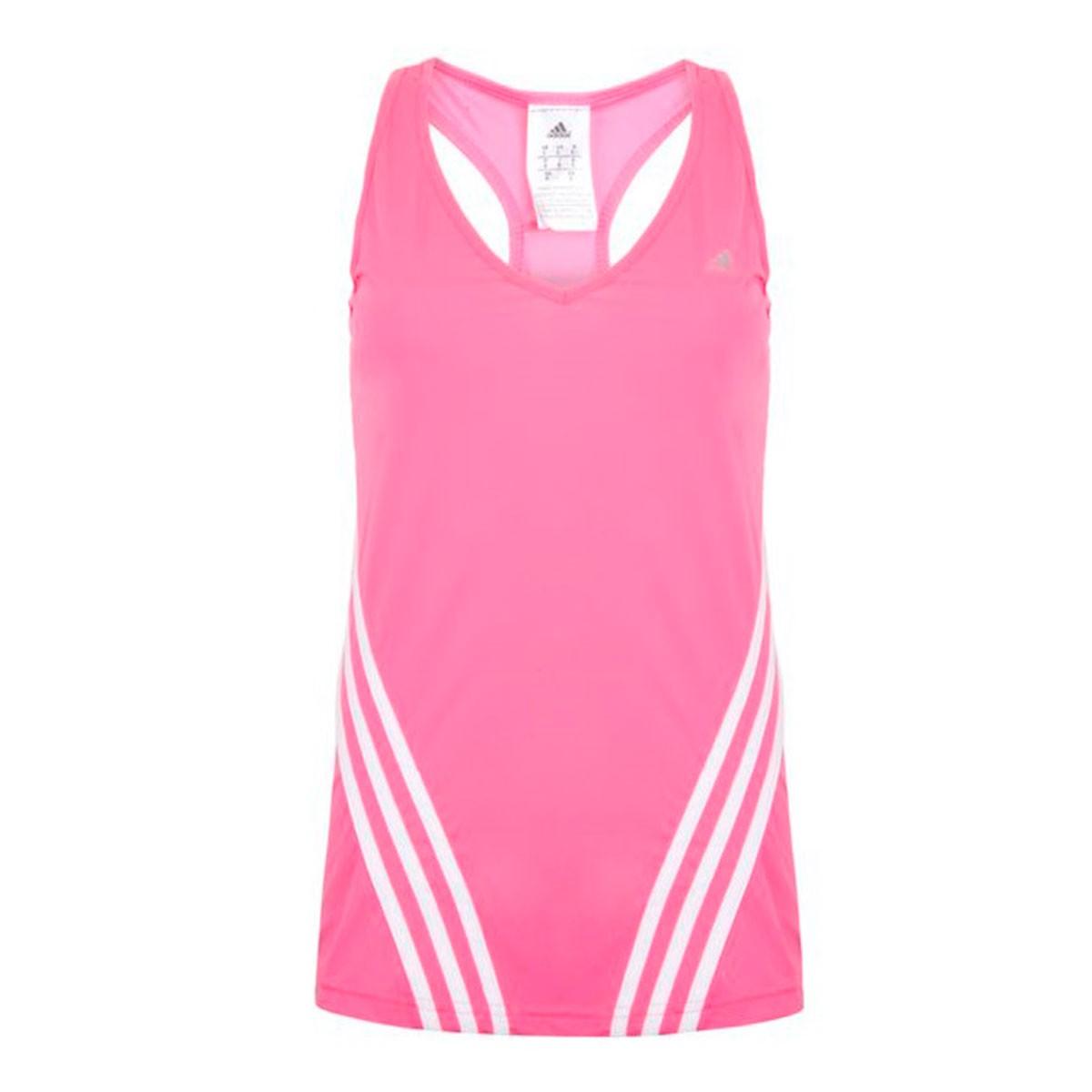 Camiseta Regata Adidas MF LW Tank 3S Rosa