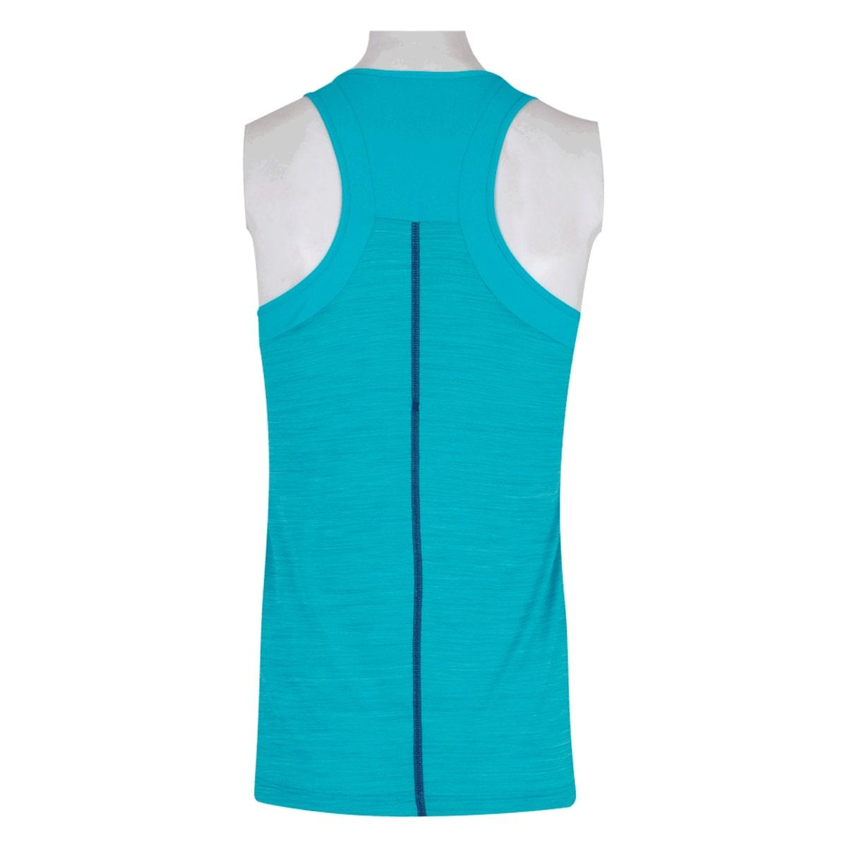 Camiseta Regata Asics Tank Feminina Azul Piscina