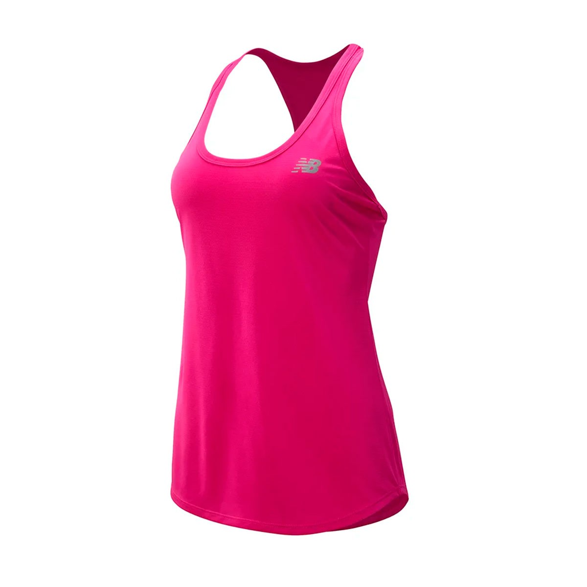 Camiseta Regata New Balance Accelerate v2 Feminino Rosa