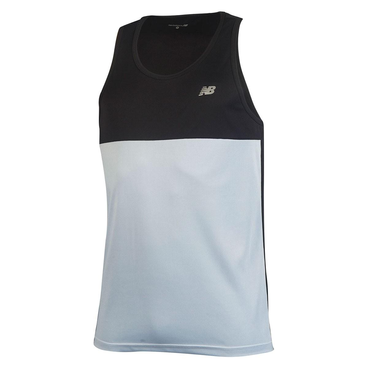 Camiseta Regata New Balance Masculino - Preto