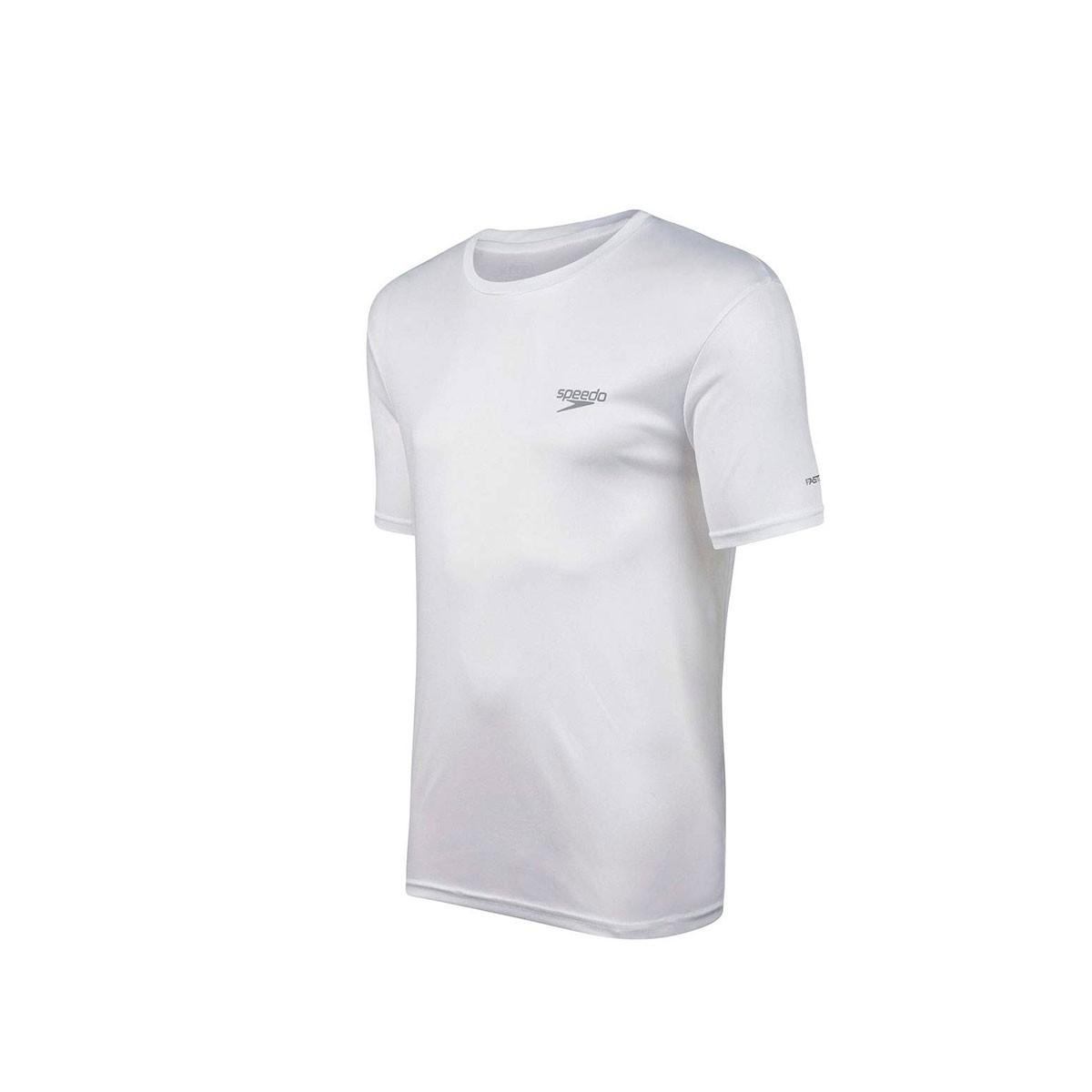 Camiseta Speedo Interlock Canoa Branco