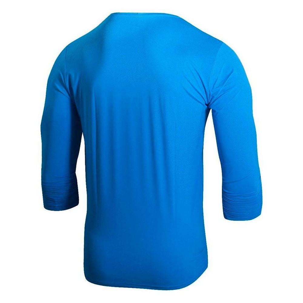 Camiseta Speedo UV Protection ML Masculino Azul