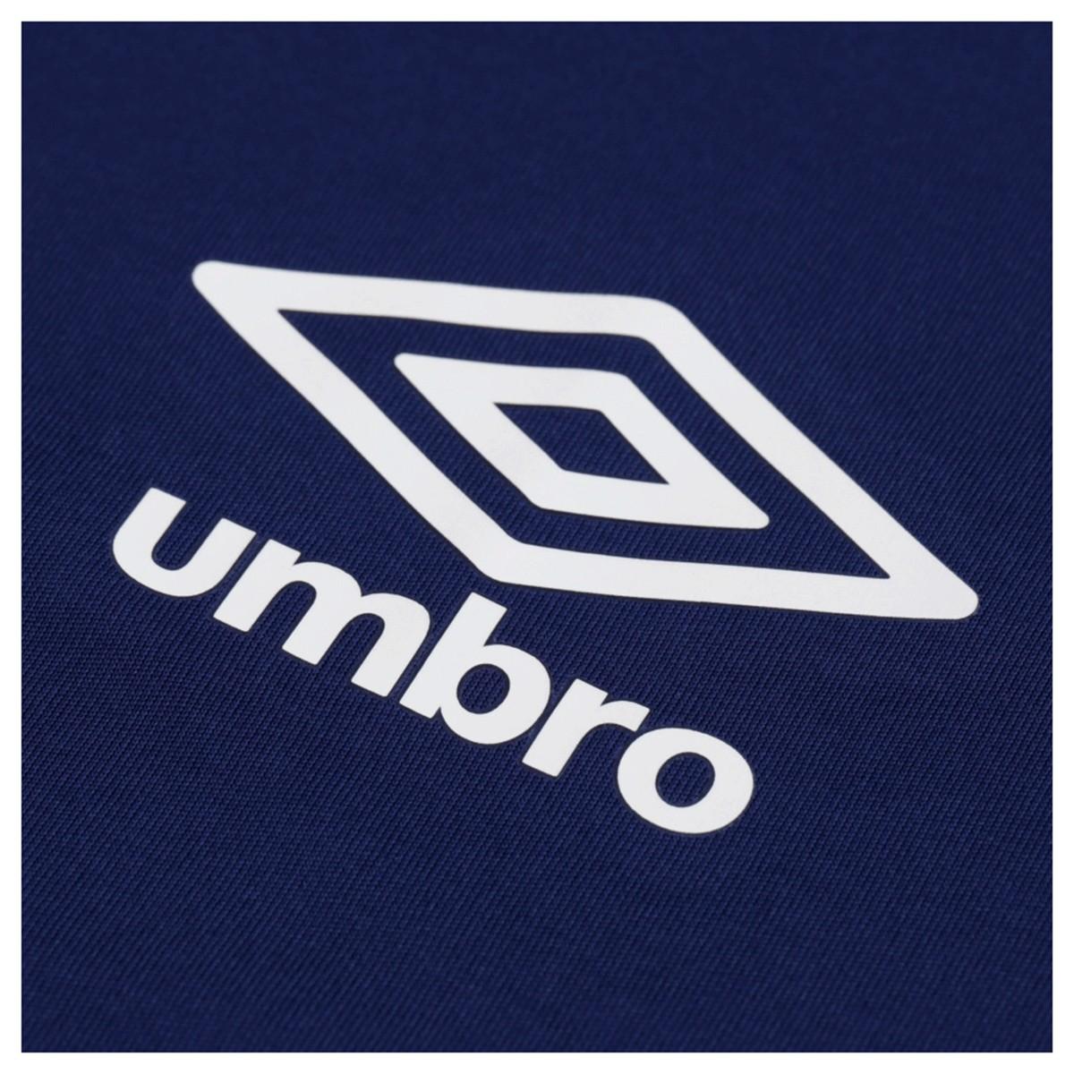 Camiseta Umbro TWR Docket Masculino Azul