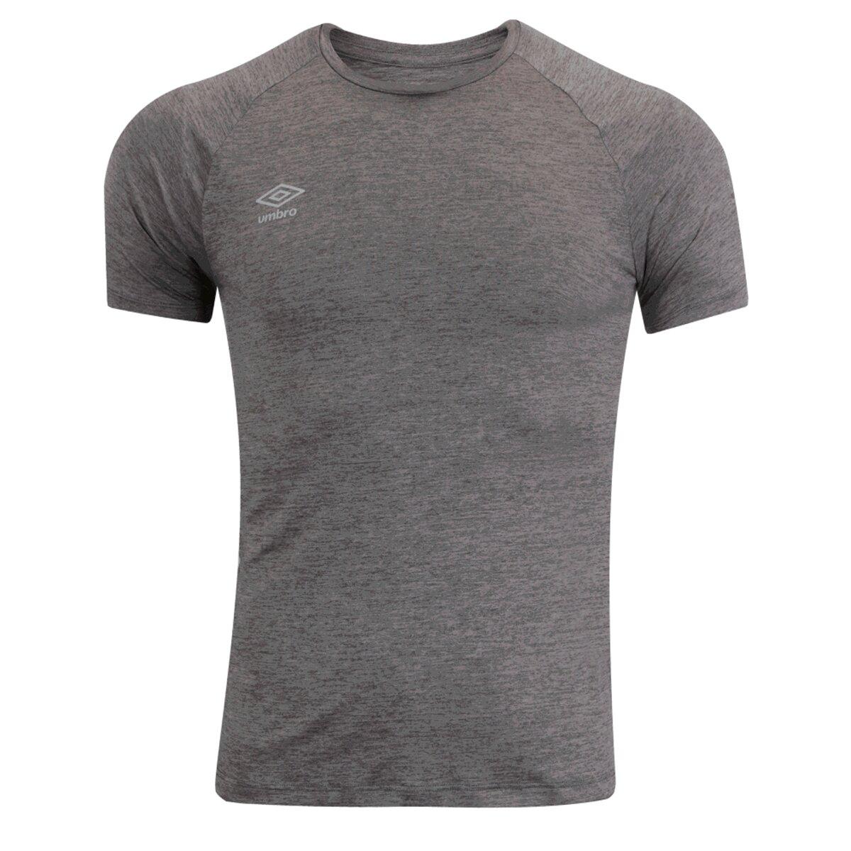 Camiseta Umbro TWR Flat New Masculino Cinza