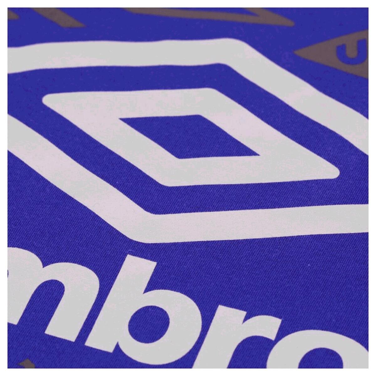 Camiseta Umbro TWR Legacy Classic Masculino Azul