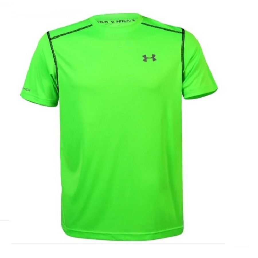 Camiseta Under Armour Coldblack Run Verde