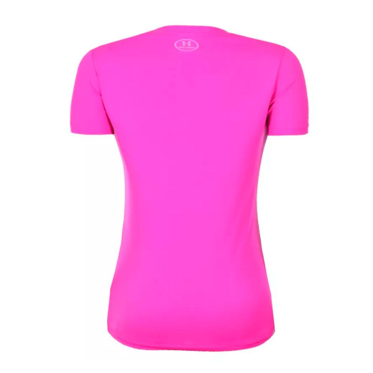 Camiseta Under Armour Tech Feminino Rosa