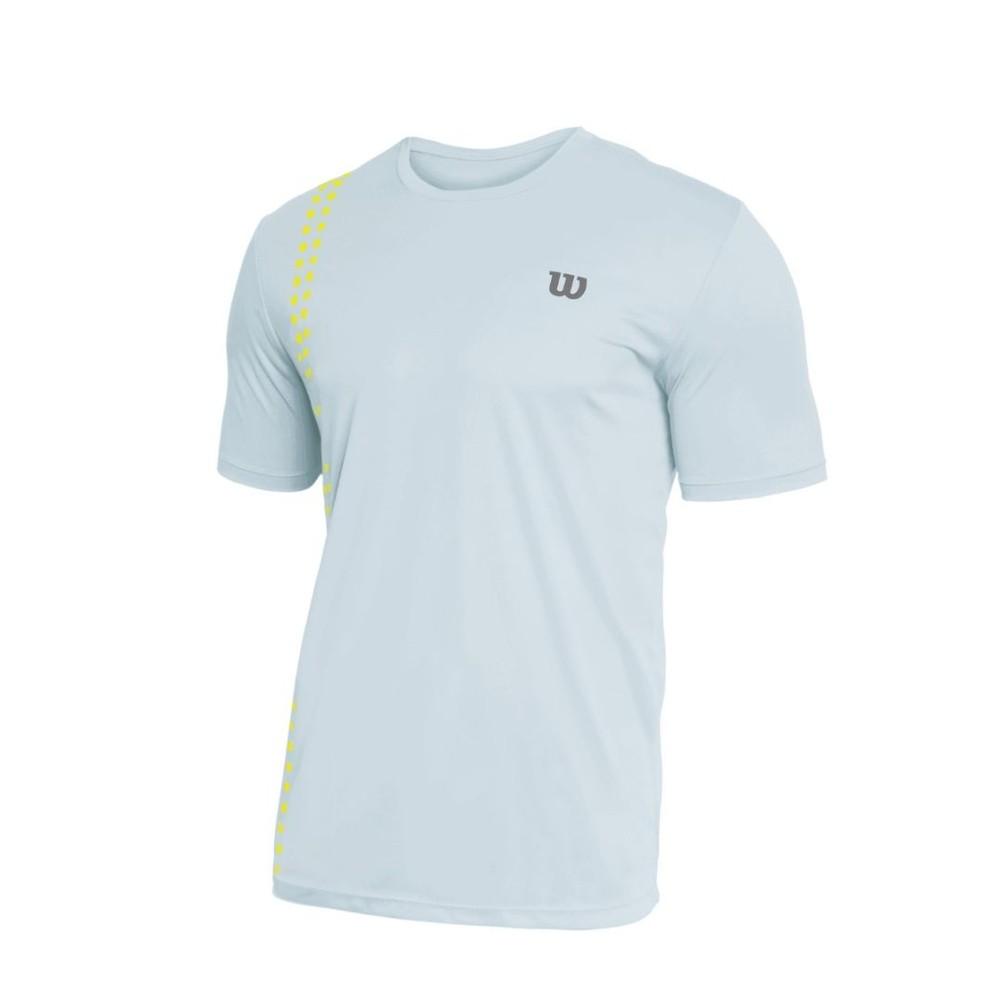 Camiseta Wilson Slice Masculino Branco