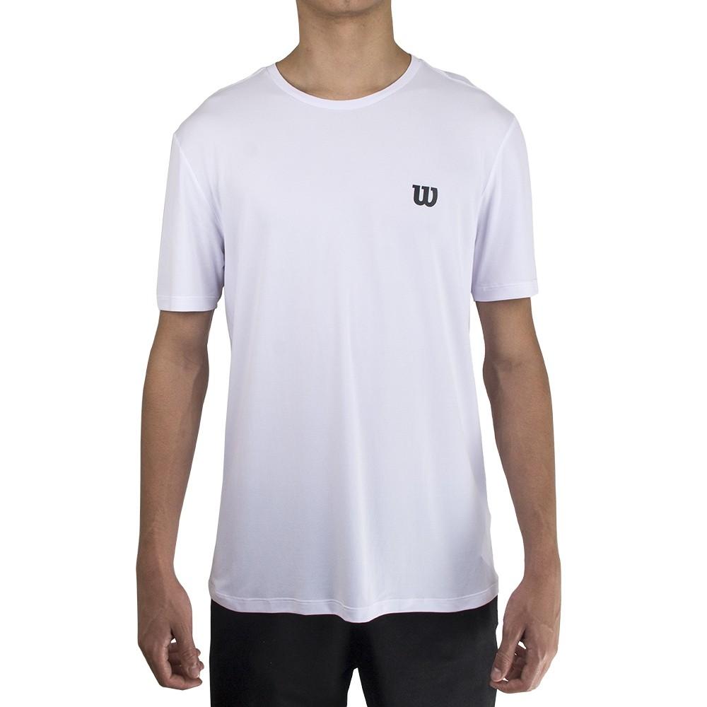 Camiseta Wilson Trainning X Masculino Branco