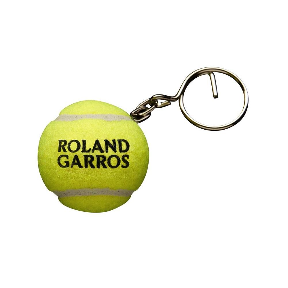 Chaveiro Wilson Mini Bola De Tênis Roland Garros