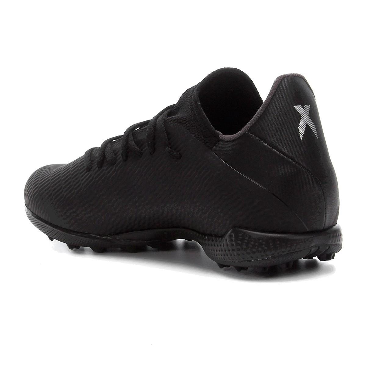 Chuteira Adidas Society Predator 19 4 S TF Preto