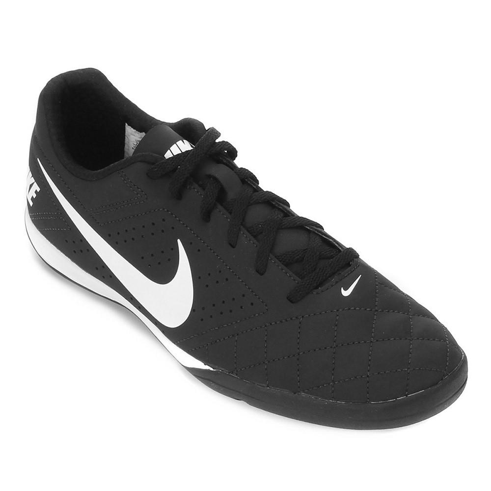 Chuteira Futsal Nike Beco 2 Masculina Preto Branco