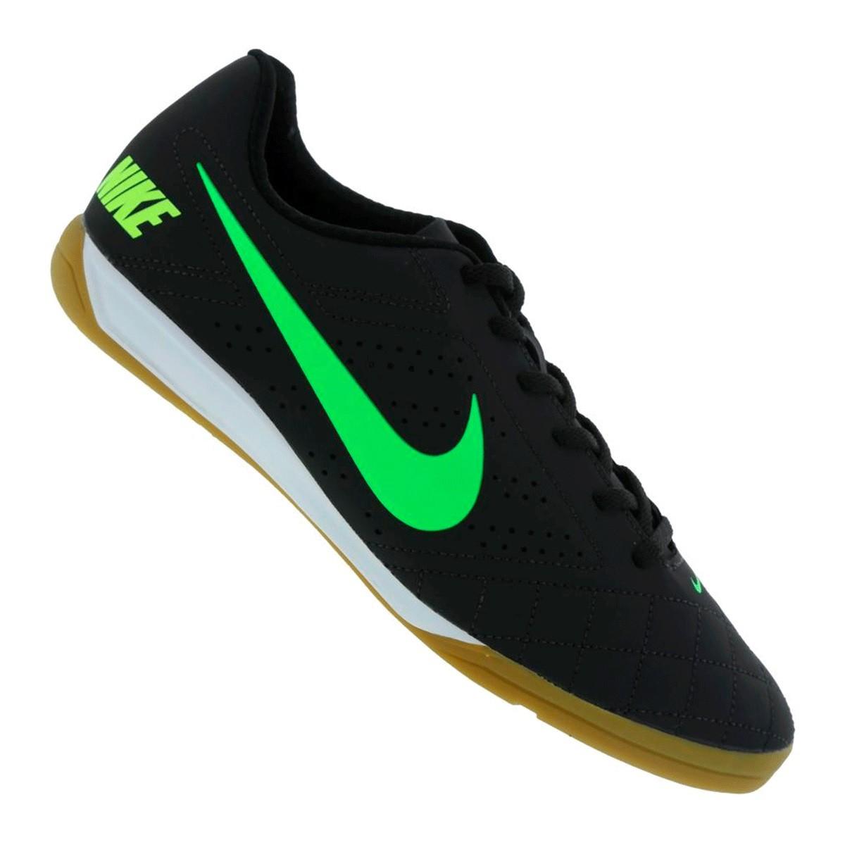 Chuteira Futsal Nike Beco 2 Masculino - Preto
