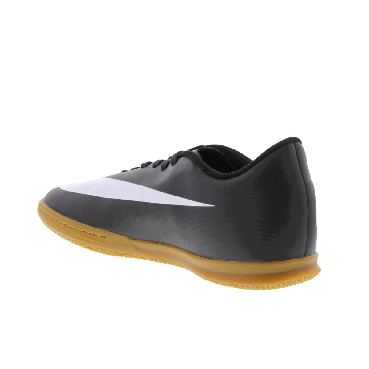Chuteira Futsal Nike Bravata 2 IC - Preto e Branco