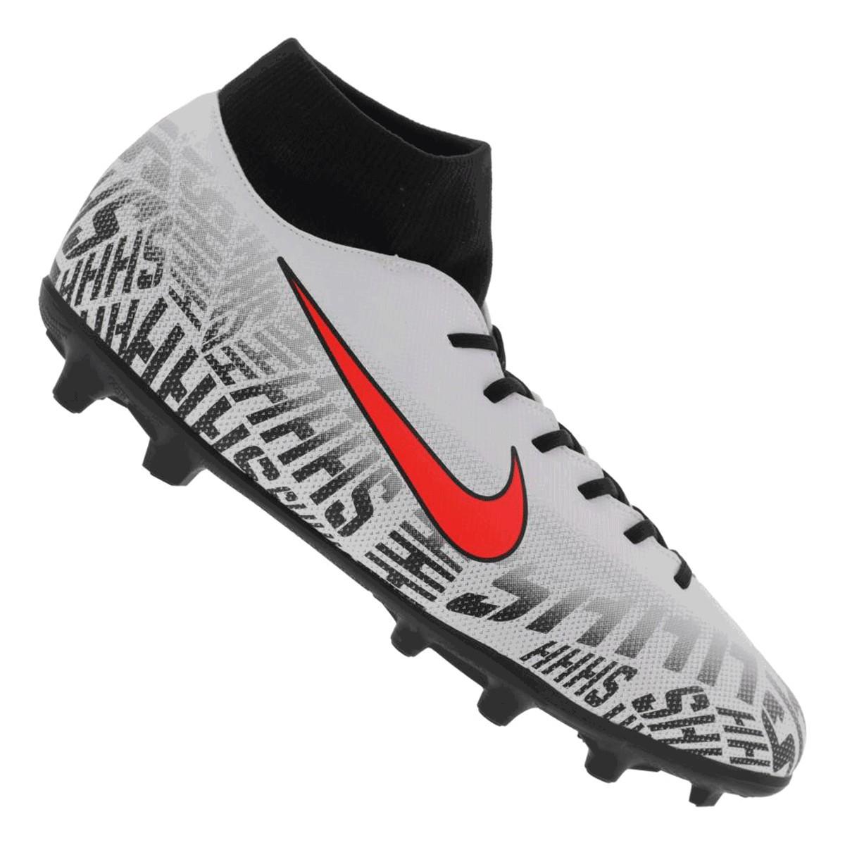 Chuteira Nike Campo Mercurial Superfly 6 Club Neymar Jr